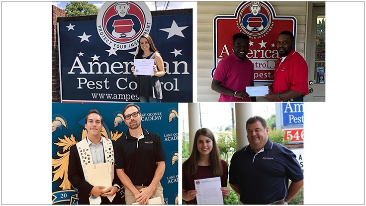 American Pest Control Announces Scholarship Recipients