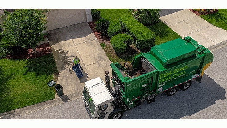 Waste Management's recycling revenue continues to decline in second quarter