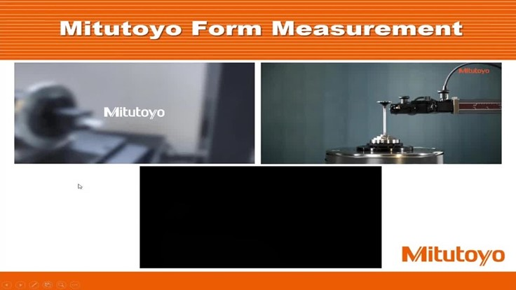 Free metrology webinar from Mitutoyo (Video)