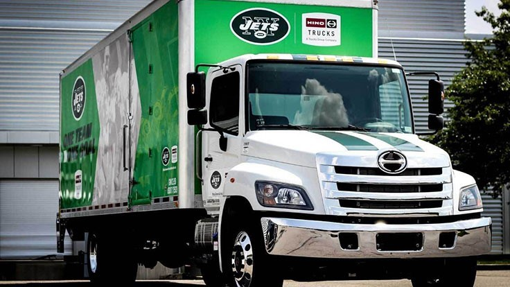 Hino Trucks signs multiyear partnership with New York Jets