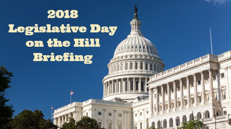 2018 Legislative Day on the Hill Briefing