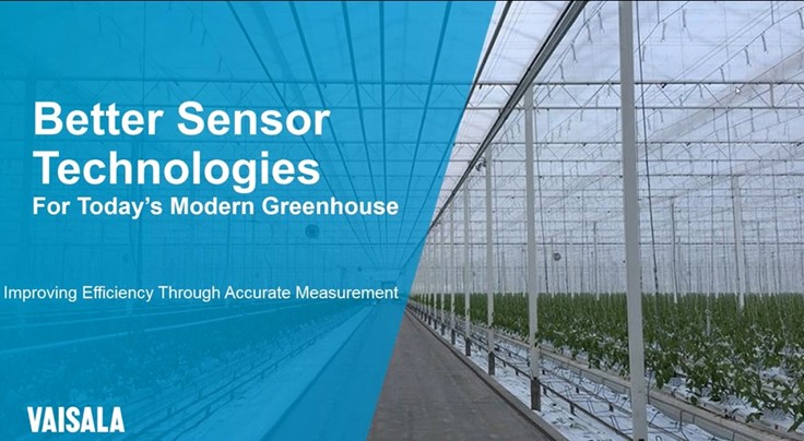 Sponsored: Better sensor technologies: Three measurements to balance resources and efficiency in controlled environment agriculture [webinar]