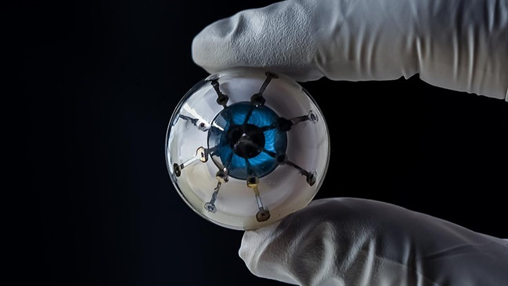 3D-printed prototype for bionic eye