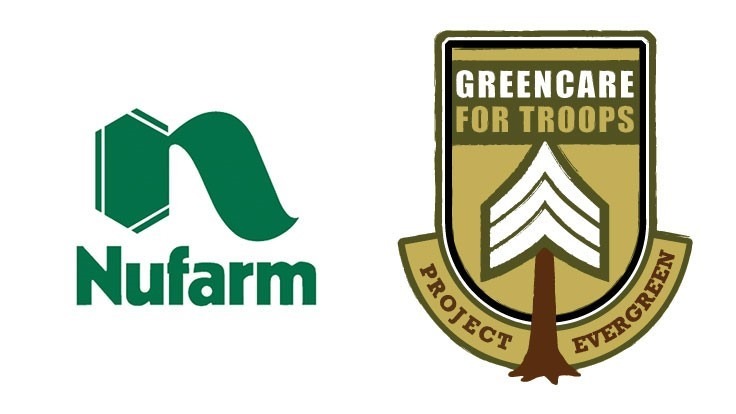 Nufarm pledges support to GreenCare for Troops