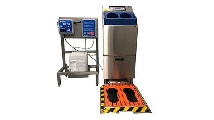 Meritech Introduces Sole Clean Dry Step for Dry Environment Footwear Sanitization