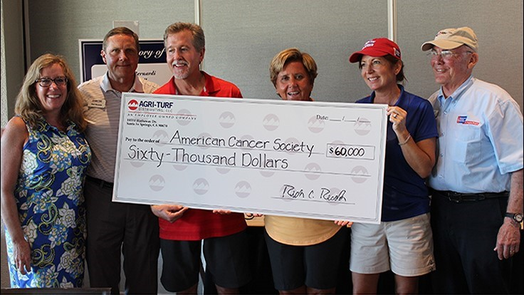 Agri-Turf Tournament Raises $78,000 for the American Cancer Society