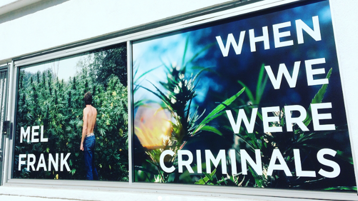 Mel Frank's Solo Photo Exhibition, 'When We Were Criminals,' Opens in New York City