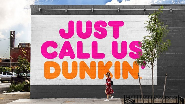Dunkin' Donuts Becomes Just Dunkin'