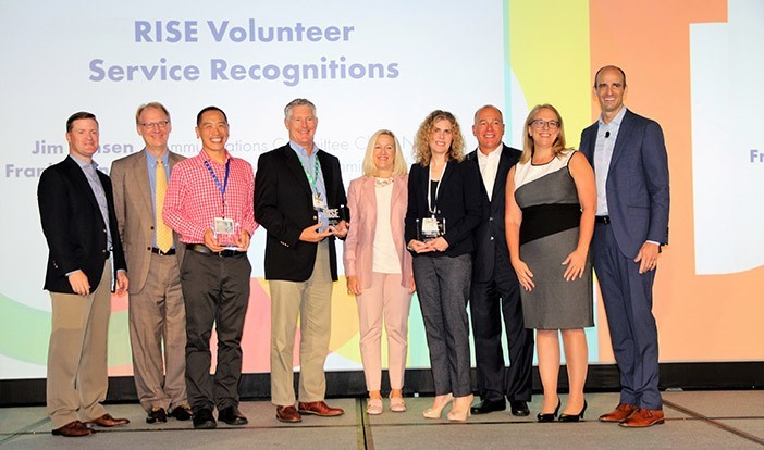 RISE welcomes new governing body, honors volunteers at 28th annual meeting