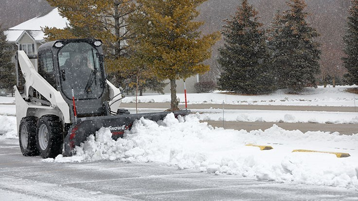 SnowEx introduces skid-steer mount
