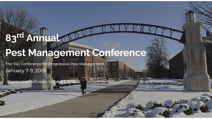 Registration Open for 83rd Purdue Pest Management Conference