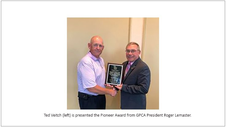 Ted Veitch Receives GPCA's Pioneer Award
