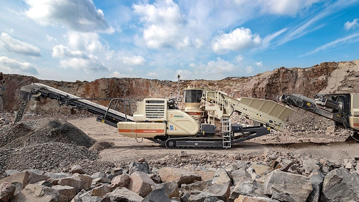 Metso adds new features to mobile crusher