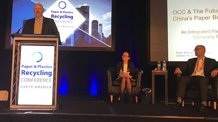 PPRC 2018: The future of OCC in China - Recycling Today