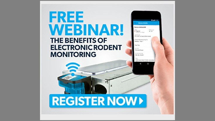 Upcoming Webinar: Benefits of Electronic Rodent Monitoring