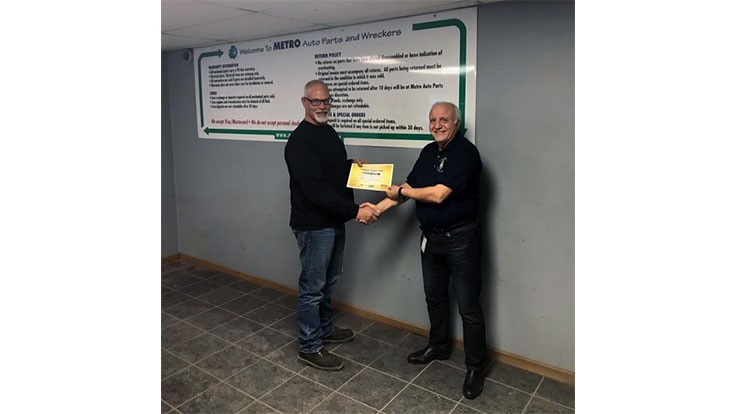 Metro Auto Parts >> Metro Auto Recyclers Receives Certification From The State