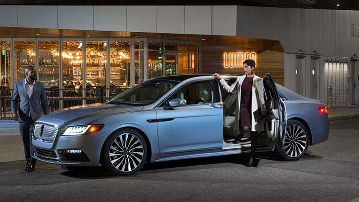 Lincoln Continental Suicide Doors A Sign Of Future Autonomous