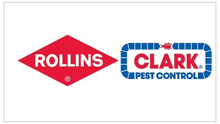 rollins to acquire clark pest control