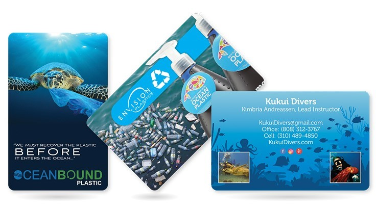 Plastic Printers to produce business cards from plastic