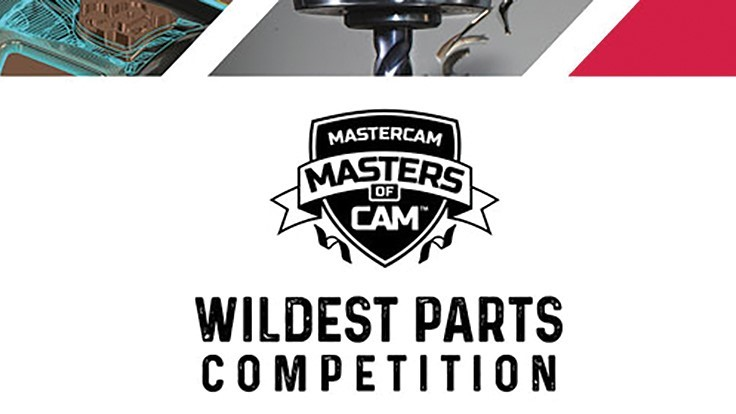 2019 Masters of CAM Wildest Parts Competition