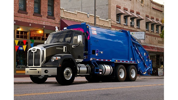 Autocar Trucks Launches Dc 64r Refuse Truck Waste Today