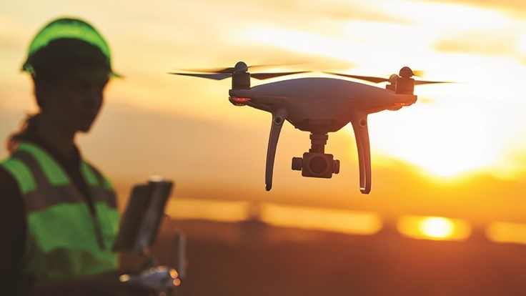 Using drones for landfill monitoring - Waste Today