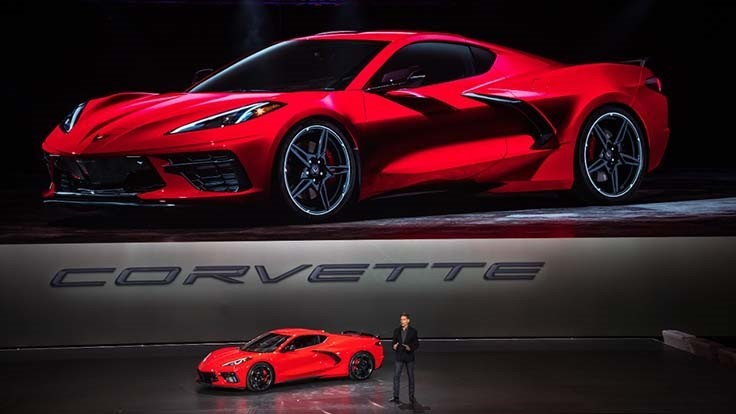 New Mid Engine Corvette >> GM unveils 2020 mid-engine Chevy Corvette - Today's Motor Vehicles