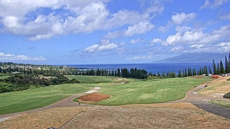 Kapalua Golf S Plantation Course Nearing November Reopen Golf Course Industry