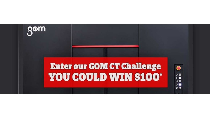 $100 GOM CT Challenge from Exact Metrology
