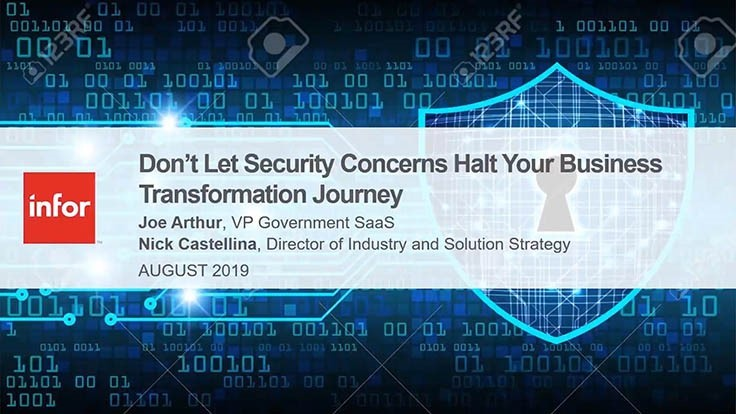 On-demand webinar: How to ensure compliance and security are