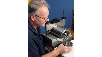 IBAG factory certified high-speed spindle repair service