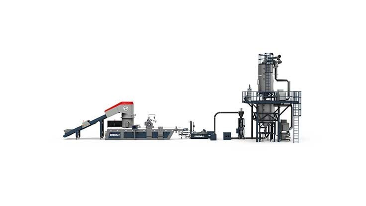 Erema extrusion system approved for food-contact