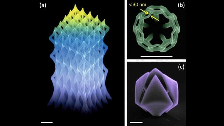 3D printing for direct production of nanostructures