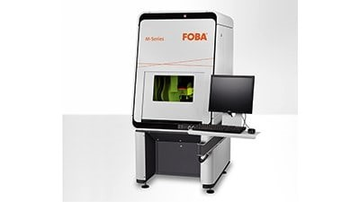FOBA's M2000 laser marking workstation and more