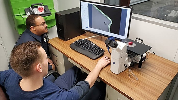 Solar Atmospheres, Western PA invests in Zeiss microscope