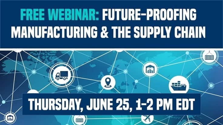 Today: Future-Proofing Manufacturing & the Supply Chain