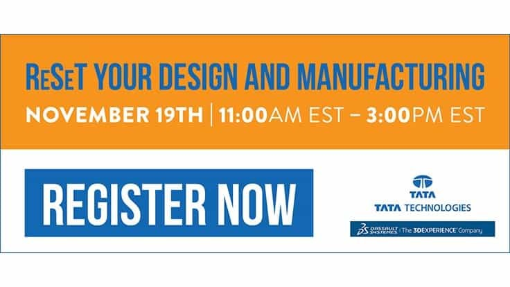 ReSeT your Design and Manufacturing registration open