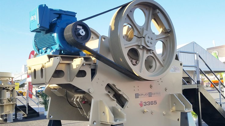 Kolberg-Pioneer expands jaw crusher product line