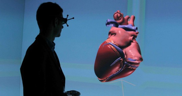 Breaking new ground – 3D simulated heart