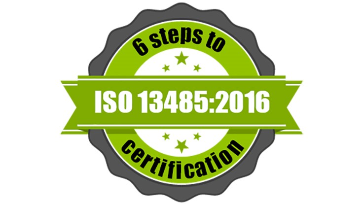 ISO 13485:2016 certification in 6 steps