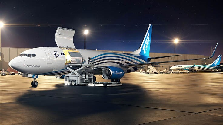Next-generation 737 Boeing Converted Freighter launched