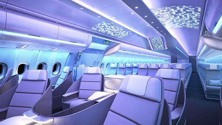 Airspace by Airbus cabin brand launches