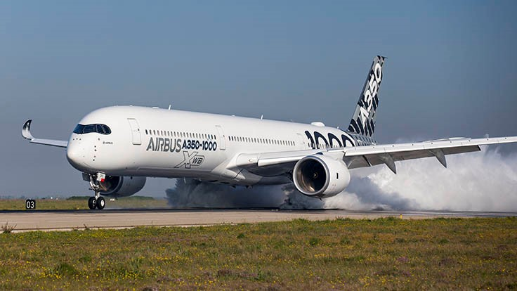 Airbus A350-1000 receives EASA, FAA type certification