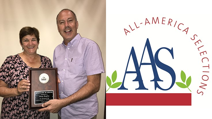 All-America Selections honors industry achiever at Summer Summit in Rochester, N.Y.