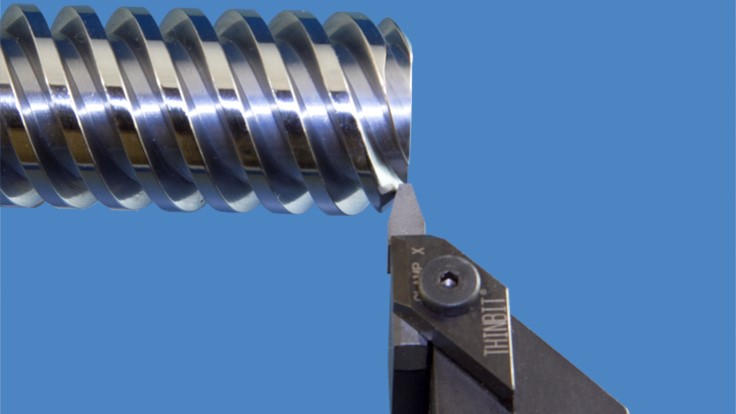 Thinbit Groove N Turn Acme Threading Inserts Today S