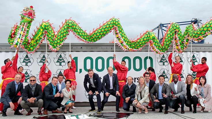 ACN Europe exports its millionth container