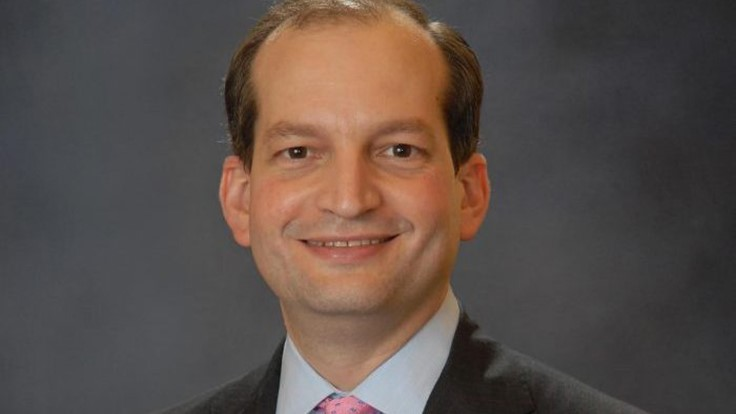 President Donald Trump selects R. Alexander Acosta as the Secretary of Labor nominee