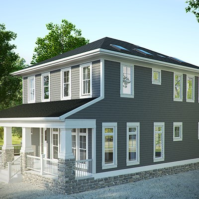 Missouri Home Incorporates American and European Green Home Building Practices