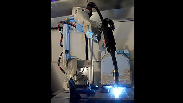 Delcam adds ABB robot for additive manufacturing