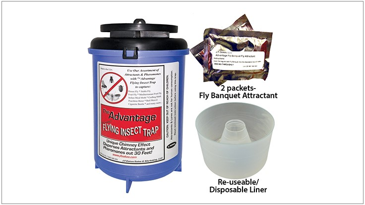 Advantage Flying Insect Trap Now UV Blue